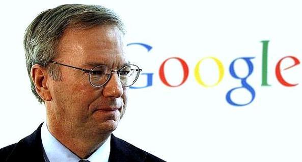 eric schmidt presidente de google